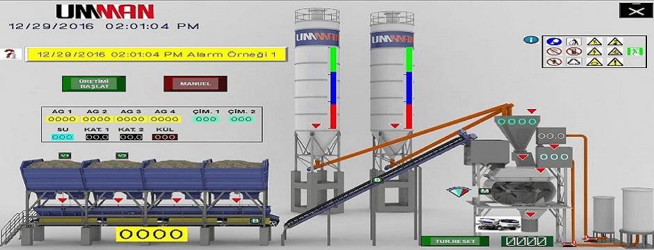 Beton Santrali Otomasyonu